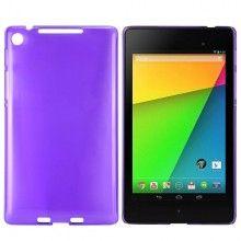 Carcasa Nexus 7 II - Gel Violeta  Bs.F. 73,50