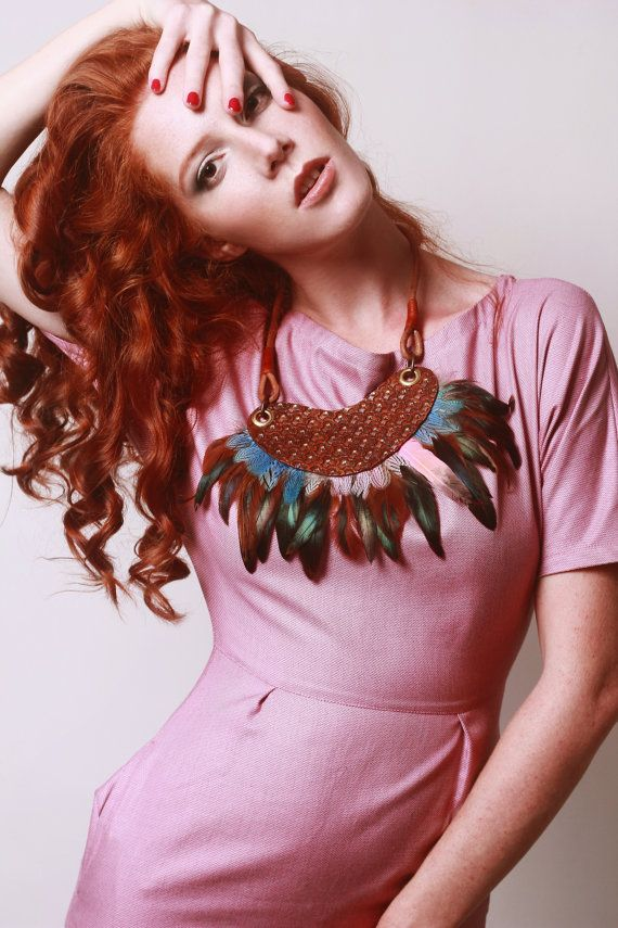 Feather Necklace €55