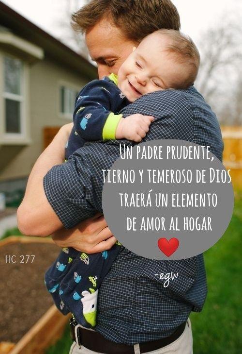 Deben refrenarse las palabras que intimiden, infundan temor y destierren el amor del alma. Un padre prudente, tierno y temeroso de Dios no introducirá en el hogar un temor servil, sino un elemento de amor. Si bebemos del agua de vida, brotará agua dulce de la fuente, no agua amarga. HC 277.3 #egw   #PadrePrudente #Tierno #TemerosoDeDios #Amor #AguaDeVida #Biblia #AguaDulce #NoAmarga #Familia #Padres #Hijos #palabrasQueEdifican  #ElHogarCristiano #EllenGWhite #EgwInspirationalQuotes…