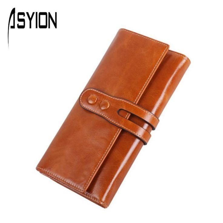 $34.82 (Buy here: https://alitems.com/g/1e8d114494ebda23ff8b16525dc3e8/?i=5&ulp=https%3A%2F%2Fwww.aliexpress.com%2Fitem%2FASYION-2016-Women-Wallets-Genuine-Leather-Vintage-Wallet-Card-Holder-Zipper-Women-s-Purse-Coin-Pocket%2F32709547977.html ) ASYION 2016 Women Wallets Genuine Leather Vintage Wallet Card Holder Zipper Women's Purse Coin Pocket Lady Clutch Wallet GL108 for just $34.82