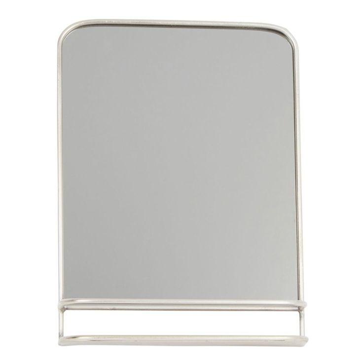 Miroir Barbier Obarbe Verre/métal 35 Cm – Taille : Taille Unique