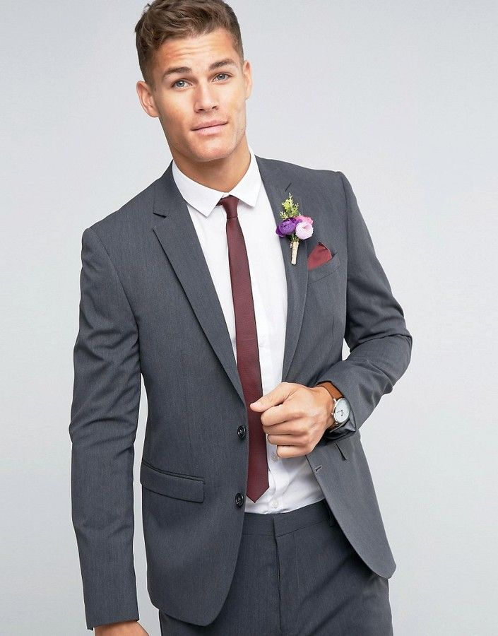 Famous Charcoal Suit For Wedding Adornment Dress Ideas