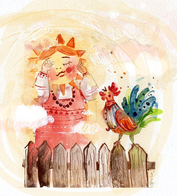 Просмотреть иллюстрацию С Новым годом коллеги! из сообщества русскоязычных художников автора Юля Липовка в стилях: Детский, нарисованная техниками: Акварель.