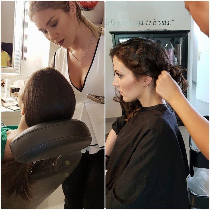 Prova de Noiva  Esta manhã foi dia de prova de Makeup e Cabelo para a nossa noiva Liliana... Pack especial noiva Penteado + MakeUp  Para mais informações contacte-nos para o 912645395  https://www.bonadea.pt/prova-de-noiva/