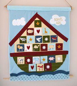 Noah´s Ark Advent Calendar | Christmas | Pinterest