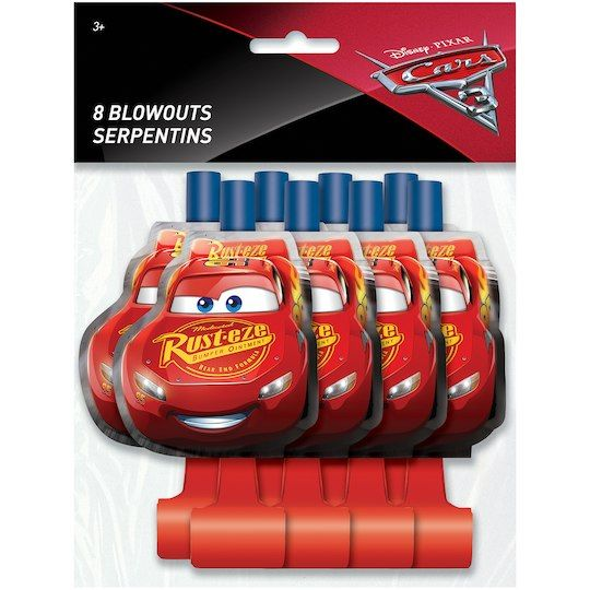 Disney Cars Party Blowouts | Disney Cars Party Supplies