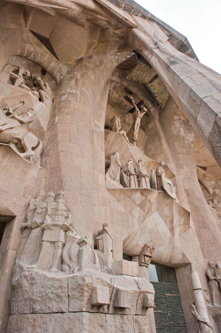 Detail van de Sagrada Familia