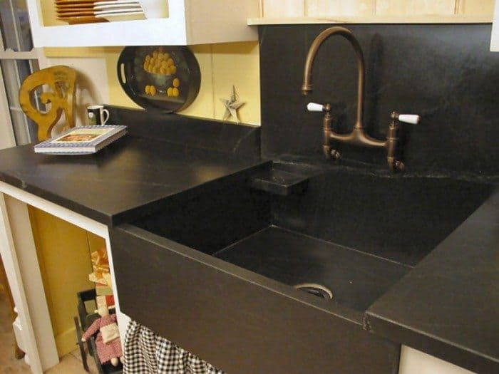 Natural Stone Kitchen Sink | Stone kitchen, Natural stones and Sinks