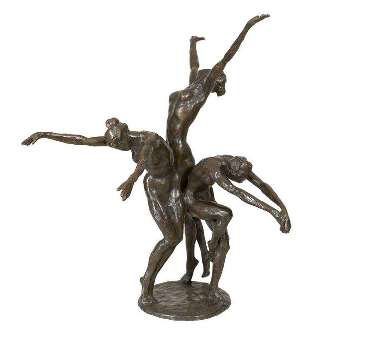 Korstiaan 'Kees' Verkade, Eclosion, bronze 50.0 cm., signed on the base and dated '95 on the base. Collection Simonis & Buunk, The Netherlands.