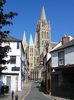 St. Mary's cathedral in Truro - Cornwall, England