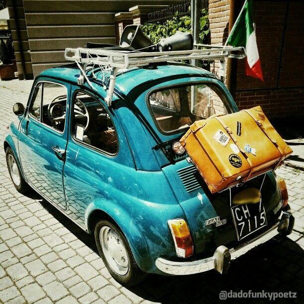 #Italia #Fiat #500 #Vintage