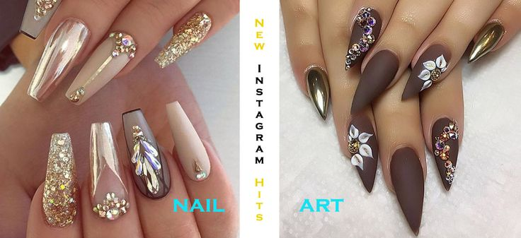 New Instagram Hits In Nail Art Challaenges