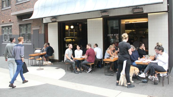 Joseph Hyde Potts Point All Day Diner. The previous owner of Surry Hill's Orto Trading Co and Redfern's Baffi & Mo has taken over the Wilmer space.