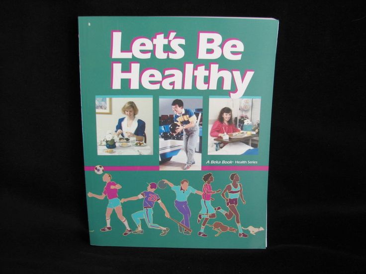 Abeka Let's Be Healthy Student Book, Like New Shape, 8th gr, Homeschool Health #Textbook