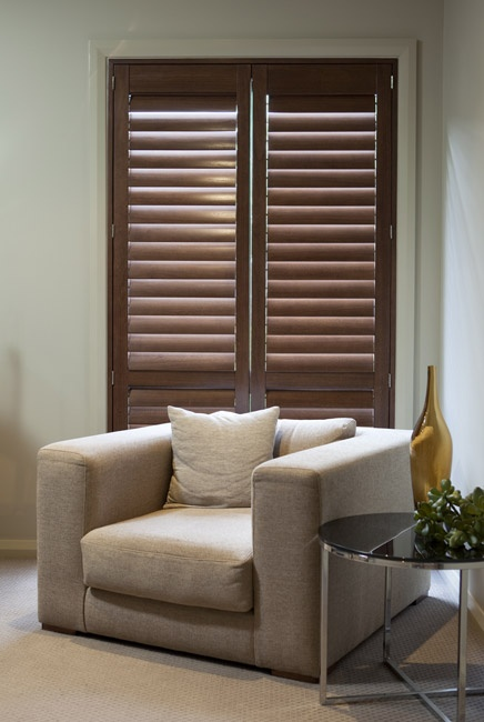 Accent Blinds quality manufactured Plantation Shutters, for residential as well as for commercial use, are made from various selected materials, as it is chosen for durabiltiy and suitability for each shutters. Accent Plantation Shutters also comes in a range of natural lacquered timber colours or anodised and painted finish. For more information on Accent Blinds window furnishing products, call 131913.