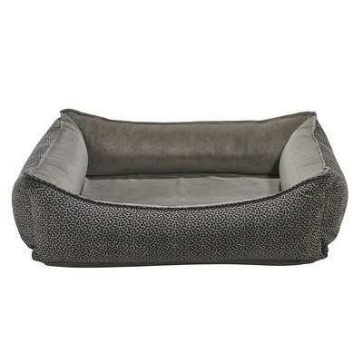 "Oslo Ortho Dog Bed Size: Small - 23"" L x 29"" W, Color: Pewter Bowsers"