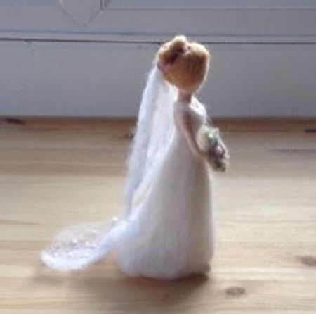 needlefelt bride