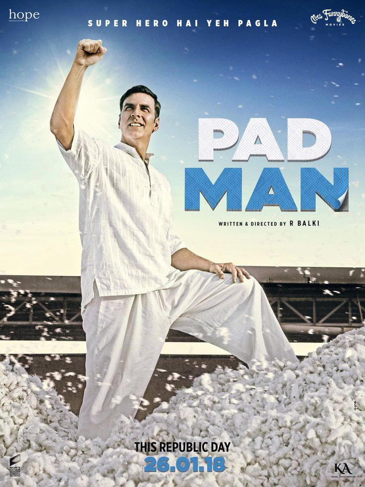 Pad Man 2018 Hindi Full Movie DVDScr 700MB