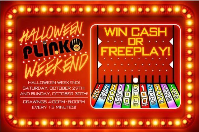 October 29th & 30th, 2016: Halloween Plinko | Cahuilla Casino