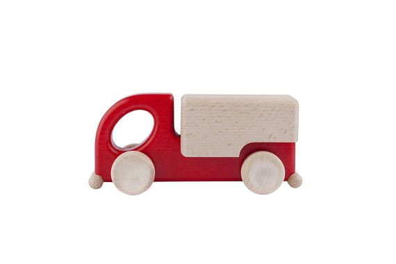Wooden Toy Car / Wood Toy Car / Waldorf Toys / Handmade Wooden