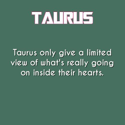 #Taurus Fact