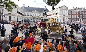 "Dutch royalty on ""prinsjesdag"""