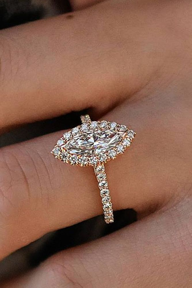 24 Best Rose Gold Engagement Rings For A Tender Look Engagement