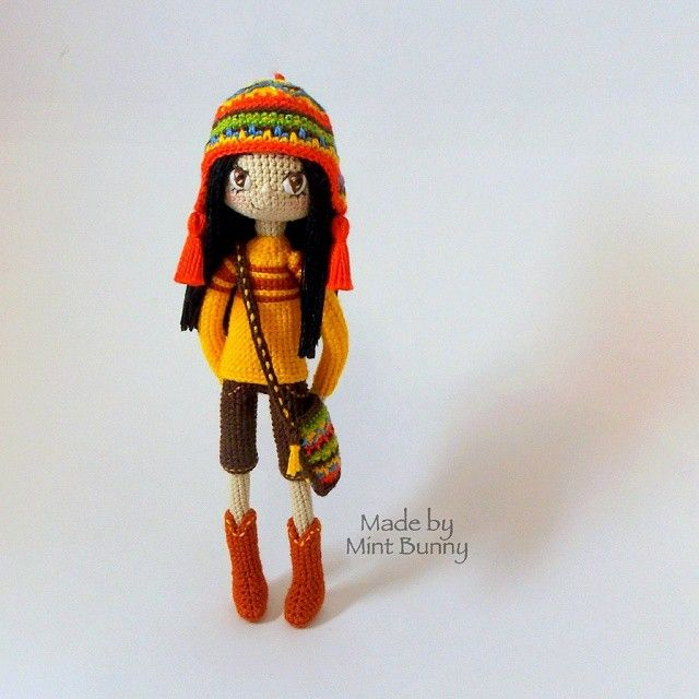 Amigurumi Headphones : Amigurumi girl Crochet Pinterest Girls, Inspiration ...