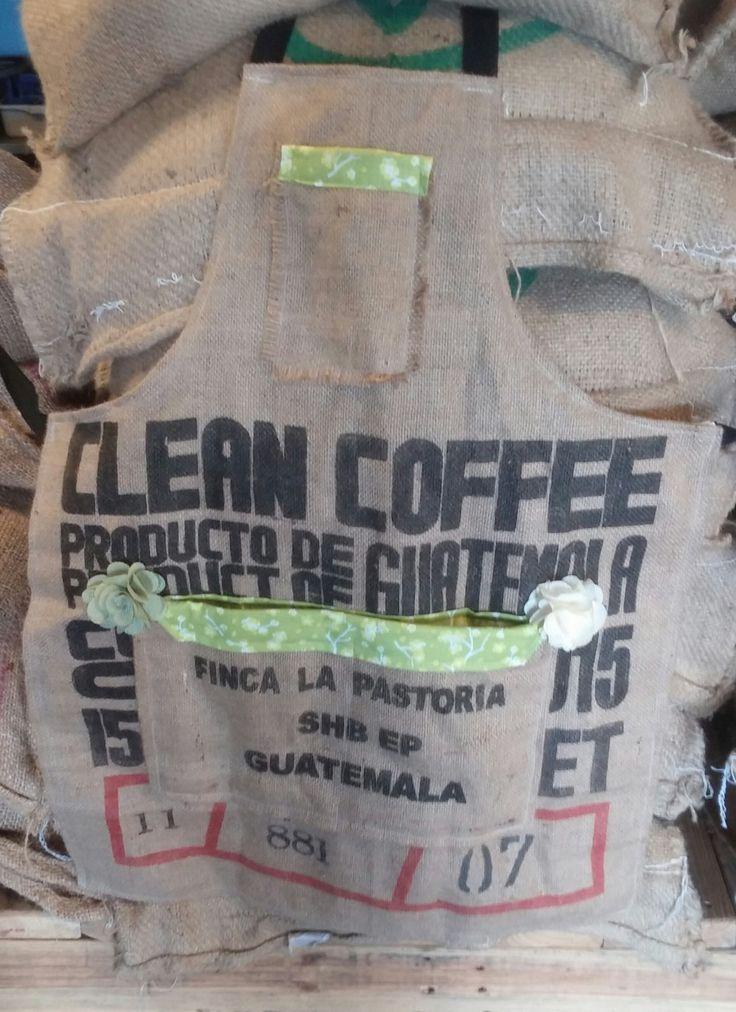 Guatemala coffee apron by BigJonsCreations on Etsy