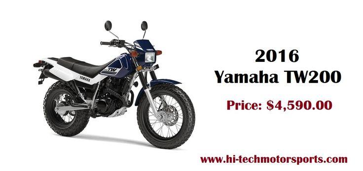 2016 Yamaha TW200  Base: $4,590  Engine: SOHC, 4-stroke, 2-valves, 196cc  For more information, Visit: http://www.hi-techmotorsports.com/Motorcycles-Yamaha-TW200-2016-Billings-MT-88eb1a76-c81b-4a80-ac6a-a6100055d9c2  #YamahaTW200 #TW200 #Yamaha #Bike #MotorBike #HiTechMotorSports #ShopOnline #BestPrice