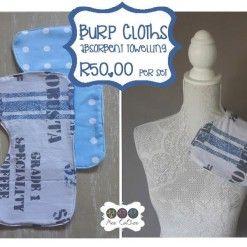 Burp cloth expresso