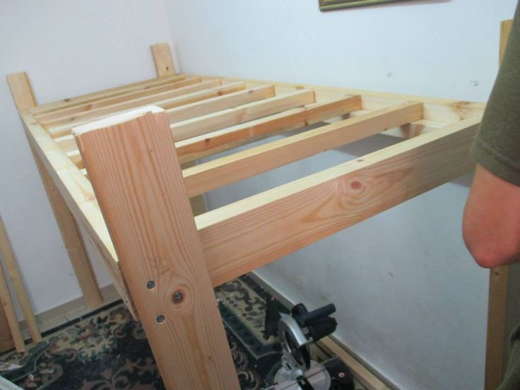 How to Build a Loft Bed- DIY Tutorial and Plans