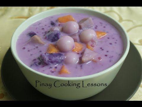 ginataan - filipino pudding