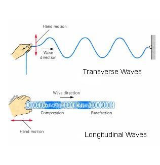 Transverse and Longitudinal Waves Examples