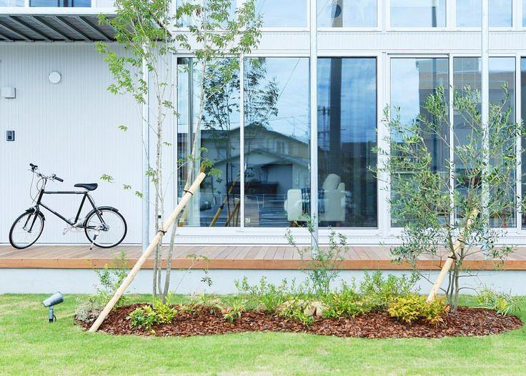 無印良品の家 倉敷店「木の家」モデルハウス。 #無印良品 #無印良品の家 #戸建て #注文住宅 #庭 #マイホーム #木の家 #自転車 #暮らし #シンプルライフ #インテリア #ウッドデッキ #倉敷 #ガーデニング  #muji #mujihouse #room #house #home #homedecor #casa #interior #interiordesign  #design #simple #minimal #minimalist #architecture #garden