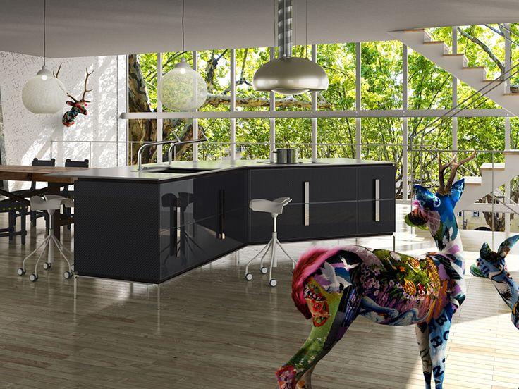 "Toyo Kitchen & Living to Launch ""Black INO"" Kitchen 【Black Carbon】"