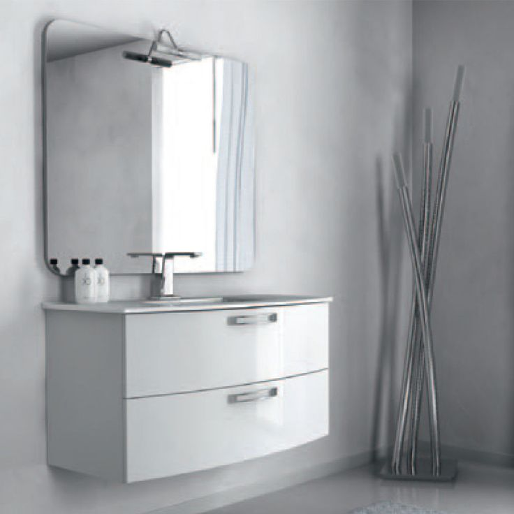 17 best images about arredo bagno on pinterest design piccolo and manhattan - Mobile bagno 100 cm ...