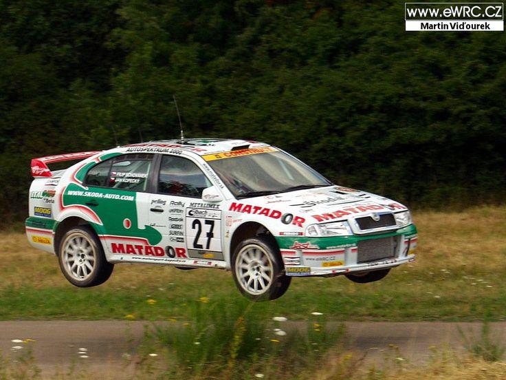 ADAC Rallye Deutschland 2003Jan Kopecký - Filip SchovánekŠkoda Octavia WRC Evo3