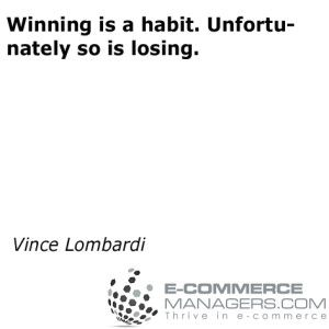 Another awesome #quote by Vince Lombardi