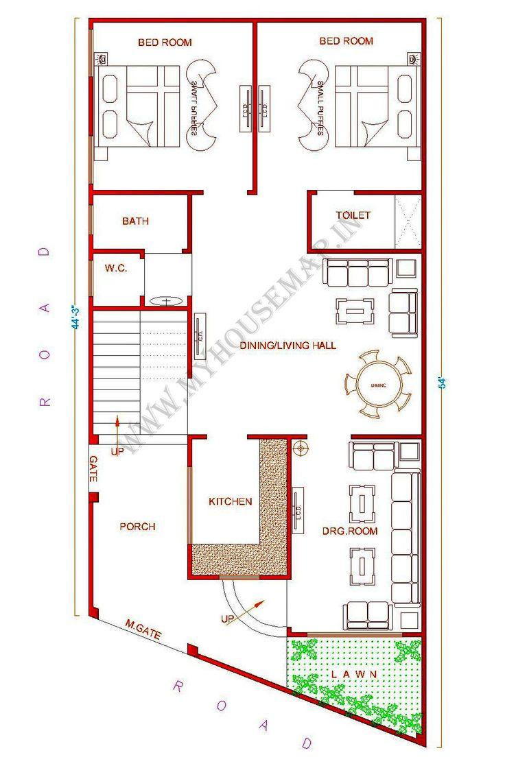 Home map design unique 25x40