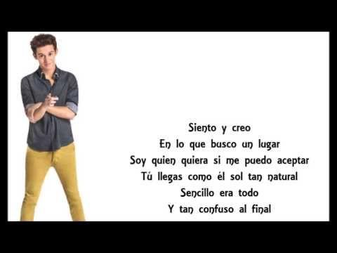 Soy Luna - Matteo (Siento) Letra - YouTube
