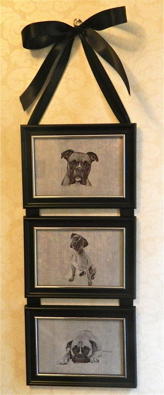 Best 25 dog picture frames ideas on pinterest love picture boxer dog picture frame collage wall by birdiegirlstreasures 1499 dog picture framesdiy solutioingenieria Images