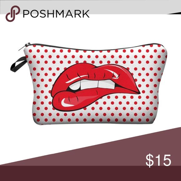 New women's cosmetic bag tourism cosmetics purse in stock 5 pieces   100% polyester 18-22cm height 13.5 cm Bags Mini Bags
