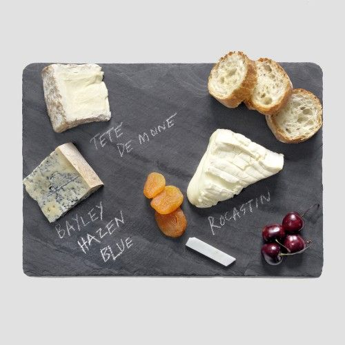 Not a recipe, just a cheese board that would be great for all the fancy cheese in my fridge :D