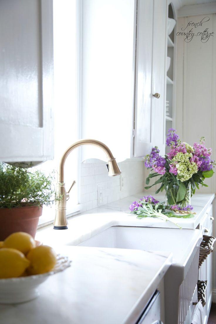 Die besten 25+ Cottage marble kitchen counters Ideen auf Pinterest ...