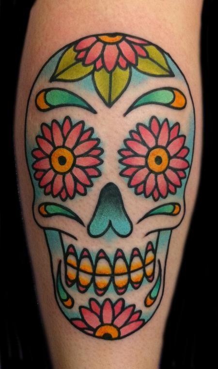 623 best sugar skulls images on pinterest sugar skull for Cat tattoo addison