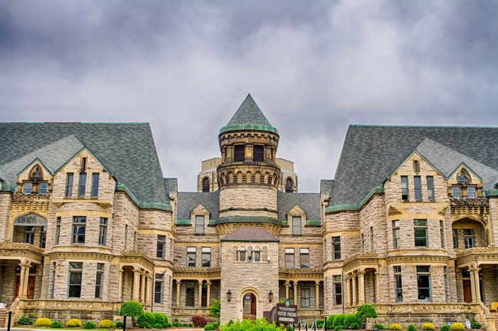 Formerly known as the Mansfield Reformatory, this historic prison first opened in 1886 and is nearly 130-years-old.