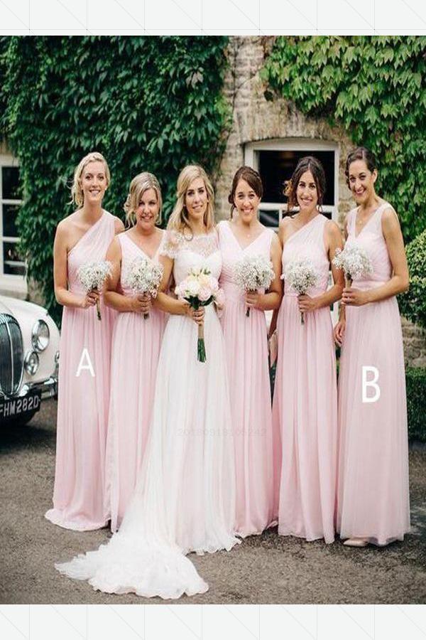 6a181523824 Outlet Cute Bridesmaid Dresses Chiffon