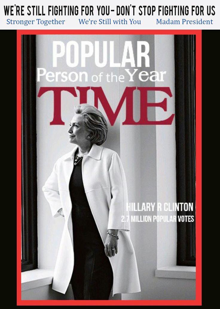 2.7 MILLION POPULAR VOTES #StillWithHer