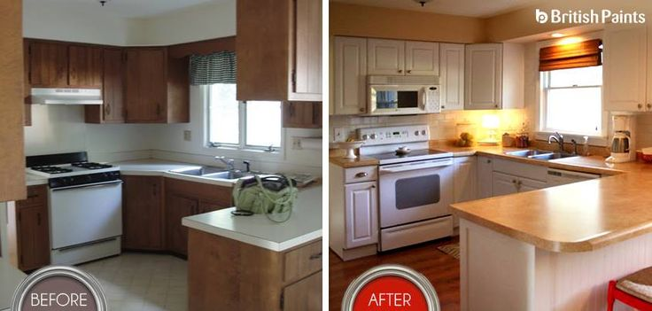 A simple renovation of the kitchen with British Paints, will add ease to lifestyle and value to the interiors.